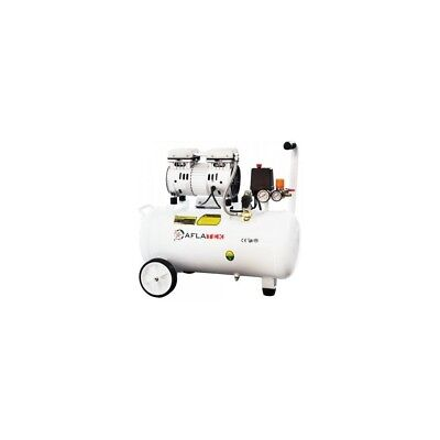 Whisper Silent Compressed Air 40 Litre 66dB Quiet Oil-Free