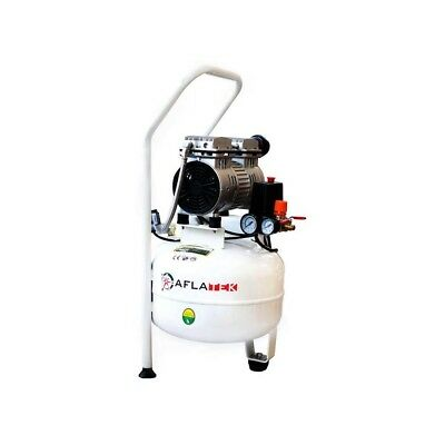 Whisper Silent Air Pressure Compressor 15L 66dB Quiet Oil-Free 65 L/Min