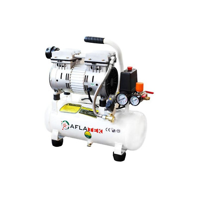 Whisper Silent Compressor 10L Pneumatic Air Pressure Quiet Oil-Free 66 Db