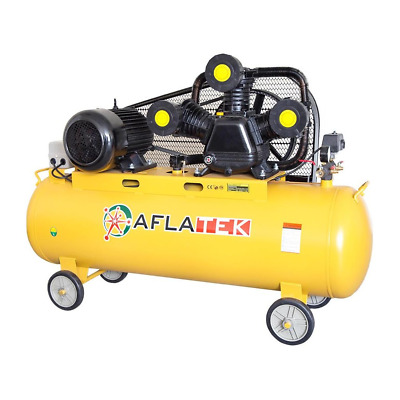 Aflatek Compressed Air 200 Litre, Piston 670L/Min 5.5kw 7.5PS