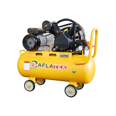 Aflatek Compressed Air Compressor 50 Litre, Piston Compressor 150L/Min 1.5KW 2PS
