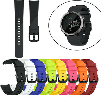 Soft Silicone Replacement Sport Wirst Band Strap For Garmin Forerunner 645 S/L