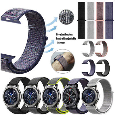 20mm Fast Adjustable Nylon Sport Loop Watch Band for Amazfit Bip Ticwatch 2 New