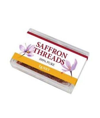 Chef's Choice 100% Pure Saffron Threads 1g