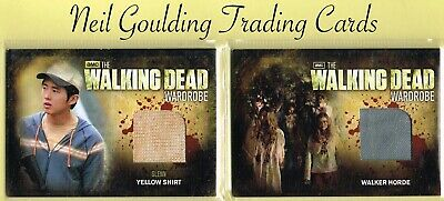 The Walking Dead - SEASON 2 ☆ AUTHENTIC WARDROBE/PROP/RELIC ☆ Trading Cards