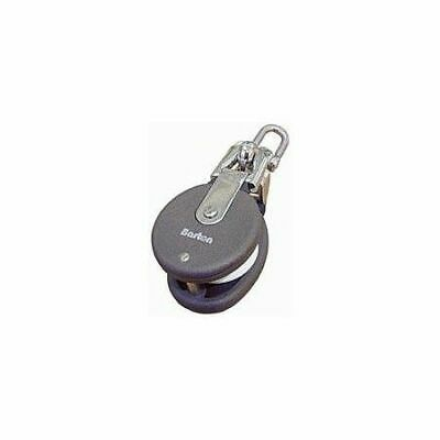 Snatch block with stainless steel shackle brl 1300kg BARTON