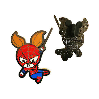 Spider-Woman Marvel Kawaii Art Collection 100% Tradable Disney Pin-XclusiveDealz
