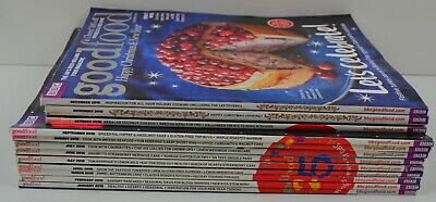 BBC Good Food Magazine Complete 2015 Set 12 Issues Cook Cooking Recipes Cookery