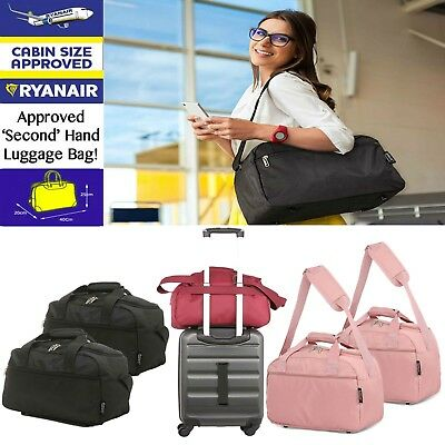 Free Ryanair Under Seat 35x20x20cm Carry Hand Cabin Luggage Bag Travel Holdall
