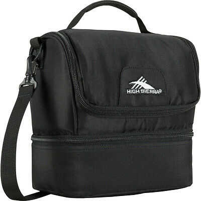 High Sierra Double-Decker Lunch Bag 3 Colors Travel Cooler NEW