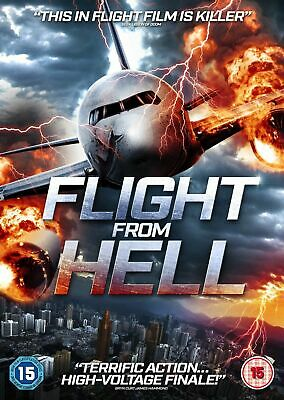 Flight From Hell (Dvd) (New) (Released 25Th June) (Action/Adventure) (Free Post)