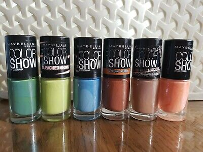 Maybelline Color Show Nail Lacquer /Varnish /Polish 7ml ~ Assorted Shades ~ New