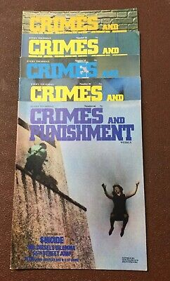 Crimes and Punishment  Magazine Issue No 16,18,19,30 And 66