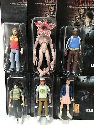 "Stranger Things 3.75"" Action Figures - Mike Will Lucas Dustin Eleven Demogorgon"