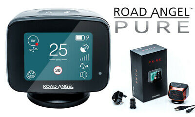 New Road Angel Pure Speed Camera Detector and Laser Gun Detection GPS WiFi