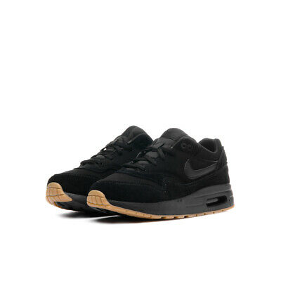 39685d9526 INFANTS BOYS NIKE Air Max 1 (PS) Suede Leather Black Gum 807603 008 ...