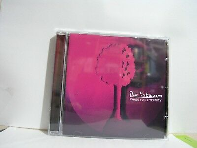 The Subways Young For Eternity CD Album New & Sealed