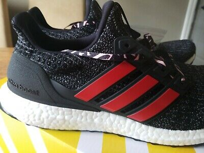 super popular aeb56 2bd33 F35231 ADIDAS ULTRABOOST 4.0 BLACK/RED REN ZHE NEW in box CNY running shoes  10.5