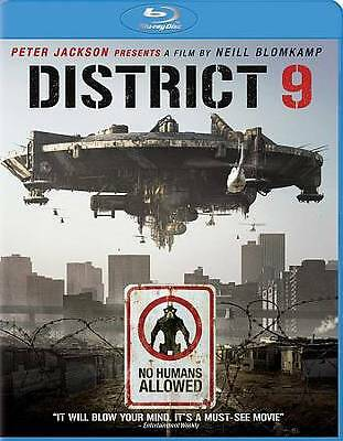 District 9 Blu-Ray *DISC ONLY* Free Shipping!