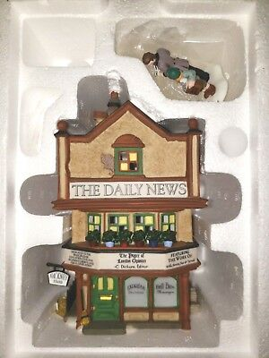 Dept 56 Heritage Village Collection Dickens Village Large Lot Bldgs & Accessory