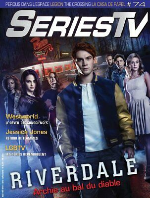 Magazine Séries Tv  - Riverdale / Westworld / X-Files / Jessica Jones  -N° 74