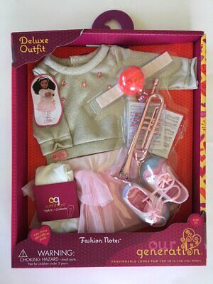 ~Our Generation Notes Deluxe Doll Clothing set for 18''dolls fit American Girl.