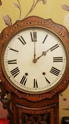 Antique inlaid wall clock *offers*