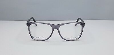 a5efa1c7411 Emporio Armani EA 9844 P8K Grey Black Rectangular Women s Glasses Eyewear  Frame