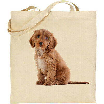 Cavapoo Dog Tote /Shopper / Reusable Bag Great Gift Fast Despatch