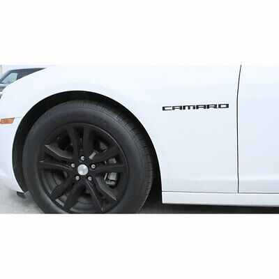 ACC Emblem fits Chevy Universal-2pc Block 'Camaro' Stainless Steel/Polished