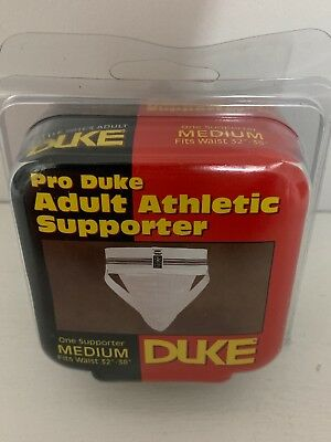 "Pro Duke Adult Athletic Supporter Jock Strap Sz M 32""-38"" Style 201CS - 2002 NEW"