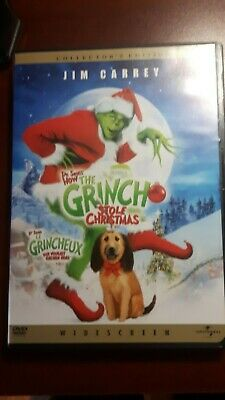 How the Grinch Stole Christmas (DVD, Collector's Edition) Bilingual EN/FR Qc