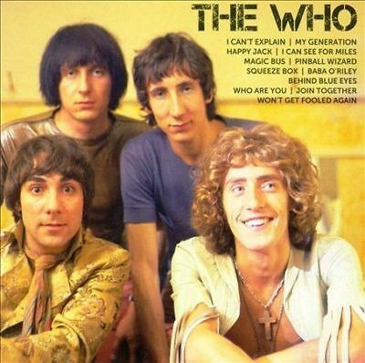 The Who ICON Greatest Hits CD Magic Bus My Generation Behind Blue Eyes Who Are U