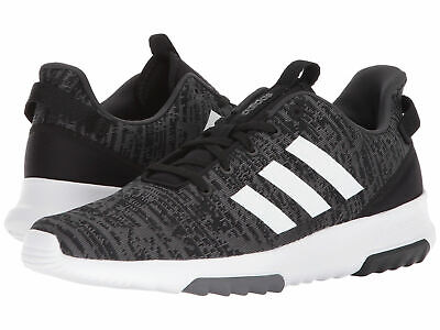 Men Adidas Racer TR Running Shoes Synthetic DB0681 Black White 100%Authentic New