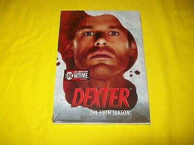 Dexter The Complete Fifth Season 5 Five Dvd New Sealed With Slipcover