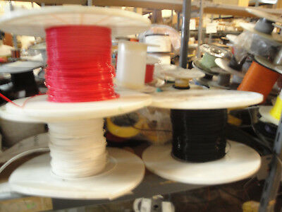 60 Ft - 16 Awg Solid Core Teflon wire 600V 200 Degree C  3 X 20ft each