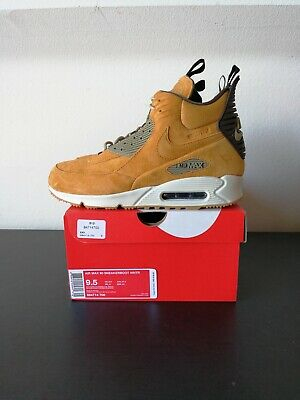 a6c58611aed720 Men s Nike Air Max 90 Sneakerboot Winter Size 9.5 Bronze Wheat White 684714  700