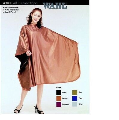 Wahl 4002 Polyurethane All Purpose Hairdressing Cape