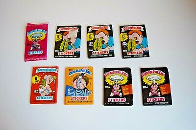 GARBAGE PAIL KIDS 7 Various Series Wax Packs 5th / 9th / 11th / 13th + Stickers