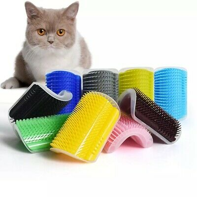 New Self Groomer For Cat Grooming Tool Hair Removal Comb  Brush Massage Device