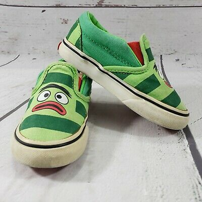 Vans Shoes Size 7.5 Toddler Yo Gabba Gabba! Green Off The Wall Used  Condition 02cddad65