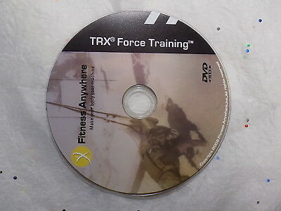 TRX FORCE TRAINING Military Fitness Program Disc Only