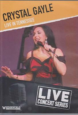 New Dvd - Crystal Gayle Live In Tennessee
