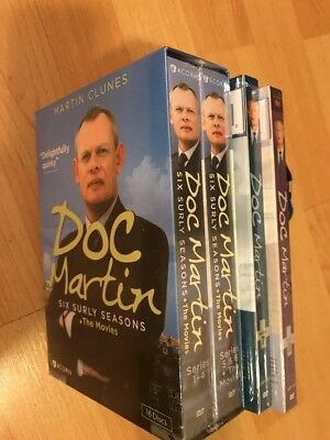 Doc Martin Complete Series Season 1-8 & movies( DVD, 2017, 21-Disc Box Set ) NEW