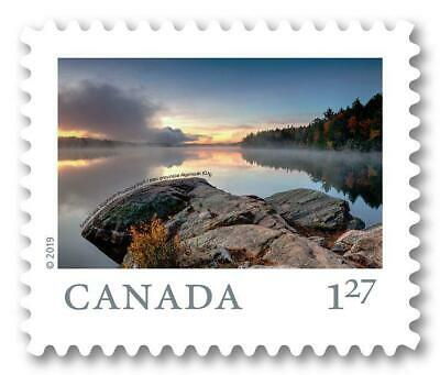 2019 Canada Post - SMOKE LAKE MNH; Single From a Booklet - Far & Wide USA Rate