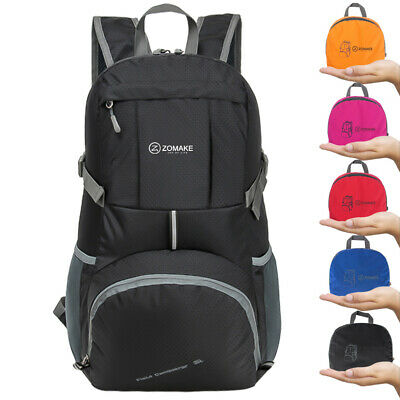 93761cf201 Ultra Lightweight Hiking Backpack 35L Packable Water Resistant Travel  Backpack