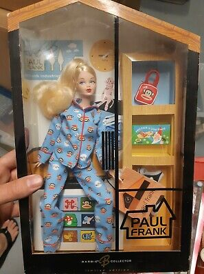 BARBIE PAUL FRANK in Blue Pajamas 2004 - NRFB Collectors
