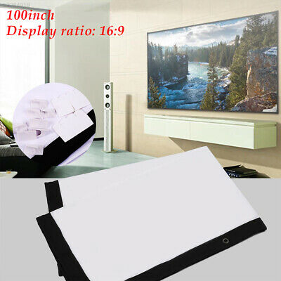 4102 Durable Projector Cloth Screen Folded Projection Screen School