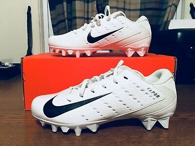 dd505ac1d132 NIKE Mens Vapor Untouchable Speed 3 TD Football Cleats White SIZE 8.5