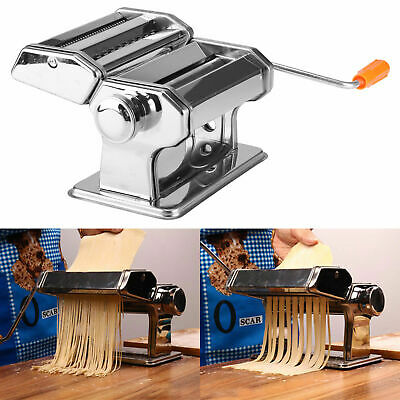 Stainless Steel Manual Noodle Machine Double Knife Split Hand Noodle Machine